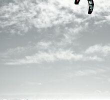 Lone Ocean Surfer by yurix