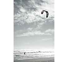 Lone Ocean Surfer Photographic Print