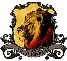 Gryffinpuff House Crest by SedatedArtist