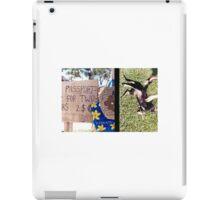 Diptych: Vanuatu Market/Scratching the Dog iPad Case/Skin