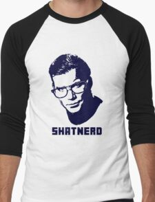 SHATNERD Men's Baseball ¾ T-Shirt