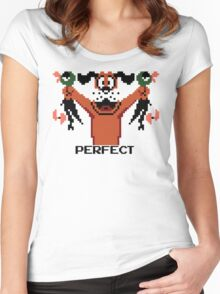 PERFECT. Women's Fitted Scoop T-Shirt