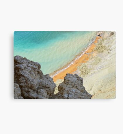 Gnejna Bay, Malta Canvas Print