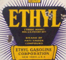 Red Crown Ethyl Gasoline Sticker