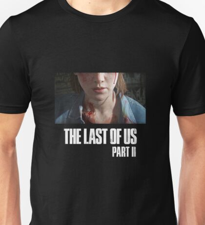 The Last Of Us Part II - Ellie (dark collection 01) Unisex T-Shirt