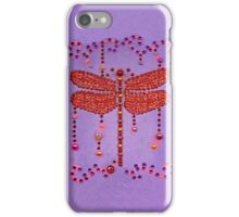 Dragonfly in Purple iPhone Case/Skin