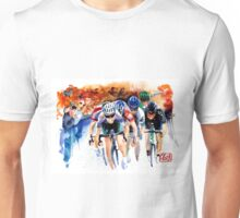 Feel the pain! TDF Sprint to Finish Unisex T-Shirt