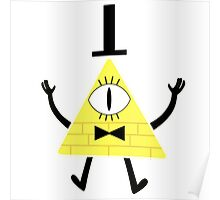 Bill Cipher from Gravity Falls Poster