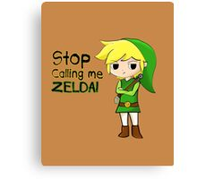 Mad Link Canvas Print