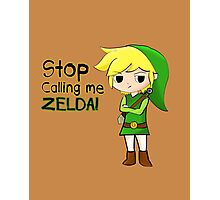 Mad Link Photographic Print