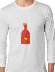 cartoon chili sauce Long Sleeve T-Shirt