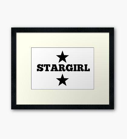 The Weekend StarGIRL Framed Print