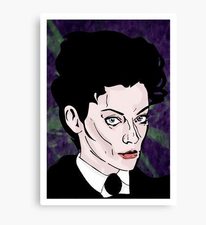 Mistress of mayhem. Canvas Print
