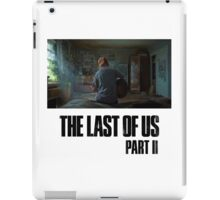 The Last Of Us Part II - Ellie (light collection 03) iPad Case/Skin