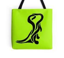 Ink Dinosaur Design Tote Bag