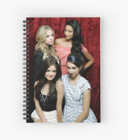 The Pretty Little Liars Spiral Notebook