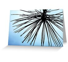 Brush The Sky Greeting Card