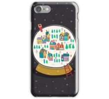 Christmas snow globe  iPhone Case/Skin