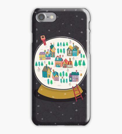 Christmas snow globe  iPhone Case/Skin