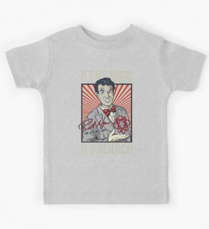 Official Bill Nye - It's Science Shirt Kids Tee