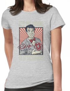 Official Bill Nye - It's Science Shirt Womens Fitted T-Shirt