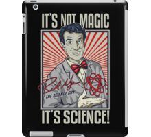 Official Bill Nye - It's Science Shirt iPad Case/Skin