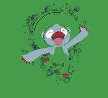 Lombre Splatter Bubble One Piece - Short Sleeve