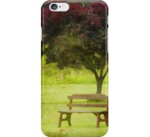 Feel the peace in this place iPhone Case/Skin