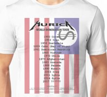 Murica World Domination Tour (w. Flag BG) Unisex T-Shirt