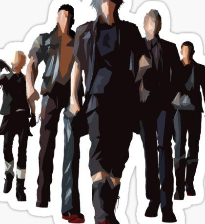 Final Fantasy XV - Characters Sticker
