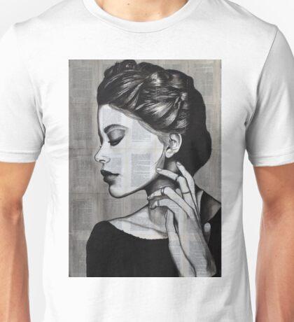 Modesty (2015) Painting by Konstantinos Skopelitis Unisex T-Shirt