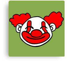 clown funny Canvas Print