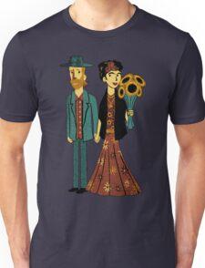 Love is Art Frida Kahlo and Van Gogh Unisex T-Shirt