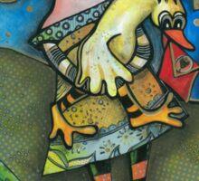 Love Duck  Sticker