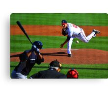 Braves VS Yankees Disney World March 2013 Canvas Print