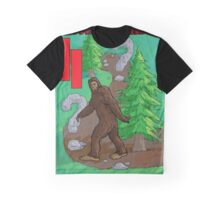 Bigfoot Family Search Atari 2600 Graphic T-Shirt