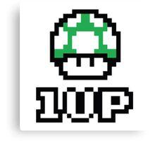 1 UP - Super Mario Bros. Canvas Print