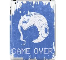 It's Game Over Mega Man, Game Over! iPad Case/Skin