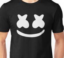 Marshmello White Unisex T-Shirt