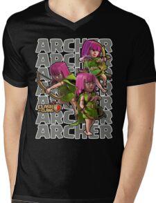 Clash of Clans - Archer Mens V-Neck T-Shirt