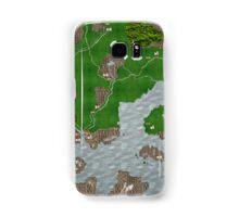 Midgard Map Samsung Galaxy Case/Skin