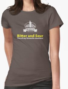Bitter and Sour Womens Fitted T-Shirt
