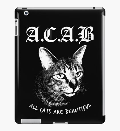 ACAB.  iPad Case/Skin