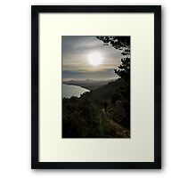 Hiking Killiney Hill Framed Print