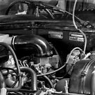 Citroën D Series Engine Bay by BRogers