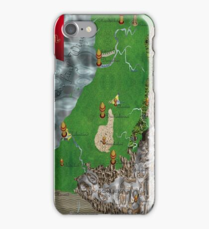 RPG Map iPhone Case/Skin