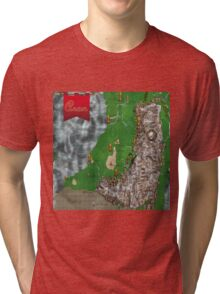 RPG Map Tri-blend T-Shirt