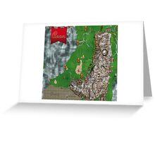 RPG Map Greeting Card