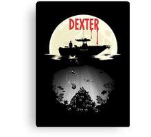 Dexter - Into the Depths Canvas Print