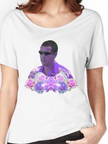 kiss me hard b4 u go summertime sandler Women's Relaxed Fit T-Shirt